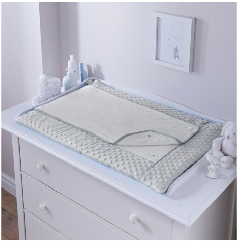 Clair De Lune Luxury Changing Mat - Dimple Grey